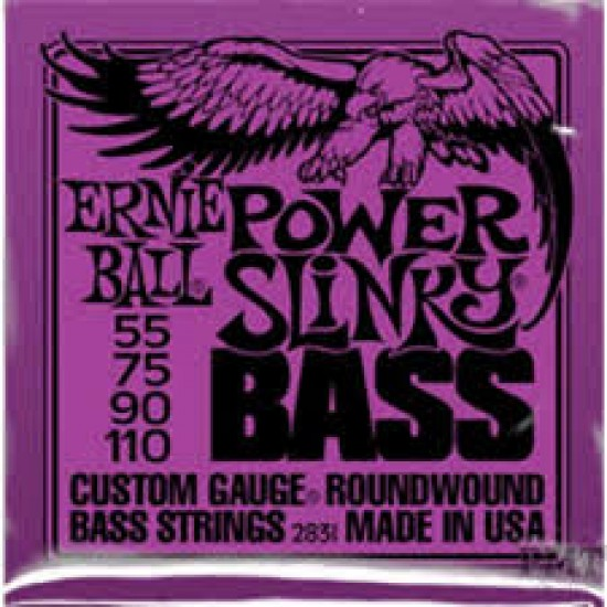 ERNIE  BALL  2831  POWER  SLINKY  BASS