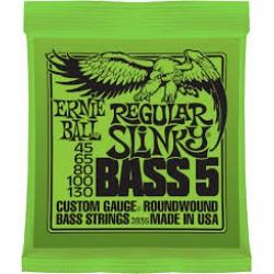 ERNIE  BALL  2836  REGULAR  SLINKY  BASS 5