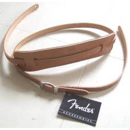 FENDER  STRAP  SUPER  DELUXE  VINTAGE  STYLE  NATURAL    TRACOLLA