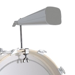 LP338 Bass Drum Cowbell staffa di montaggio