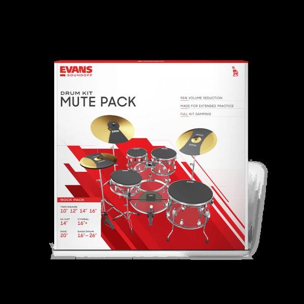 Evans Soundoff Fusion Pack
