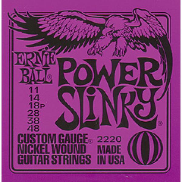 Ernie Ball Power Slinky 11/48 set per chitarra elettrica