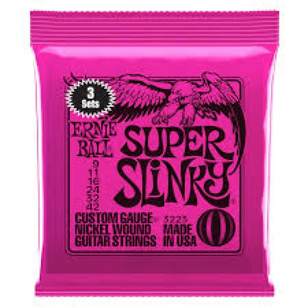 ERNIE  BALL  3223  SUPER  SLINKY 3PZ