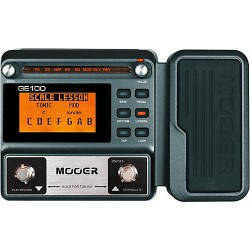 MOOER GE100 Pedaliera multieffetto per chitarra elettrica