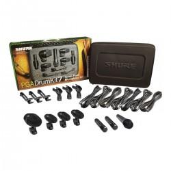 SHURE PGADRUMKIT7 Drum Microphone Kit, 7 Pezzi