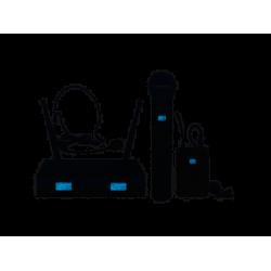 ZZIPP TXZZ622 Radiomicrofono, Microfono Wireless Gelato e Archetto