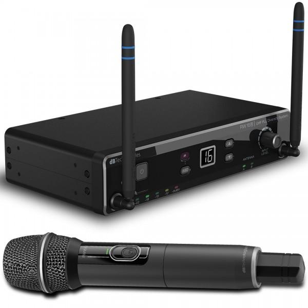 DB Technologies RW 16 MS handheld wireless microphone system