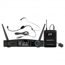 ZZIPP TXZZ541 Set Radiomicrofono ad Archetto UHF
