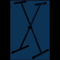 QUIK LOK T/10 BK Supporto per Tastiera singolo