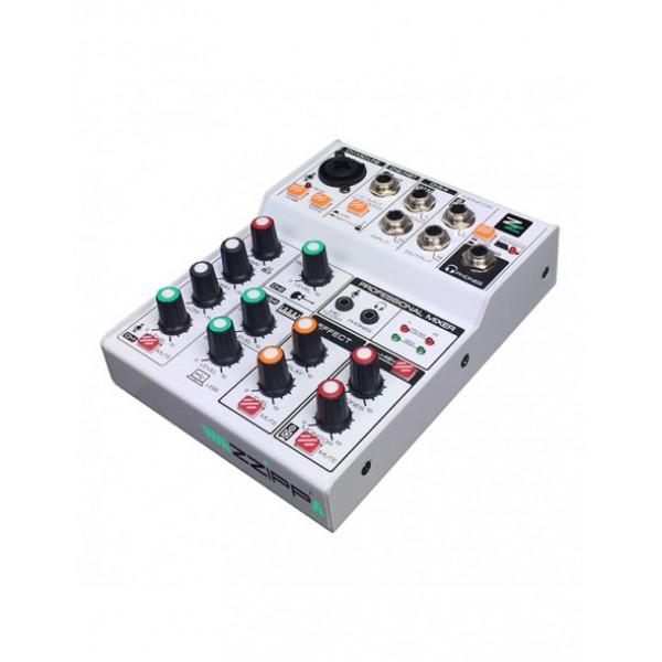ZZIPP ZZMX3 Mixer Audio 3 Canali