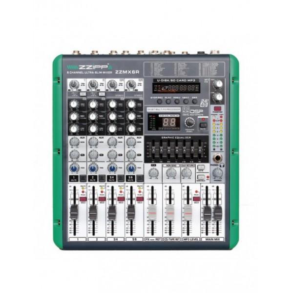 MIXER ZZIPP MX6R