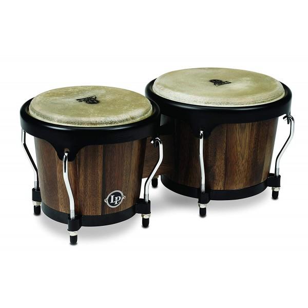 "LP Latin Percussion LP 810500 Bongo Aspire Walnut 6 3/4"" + 8"""